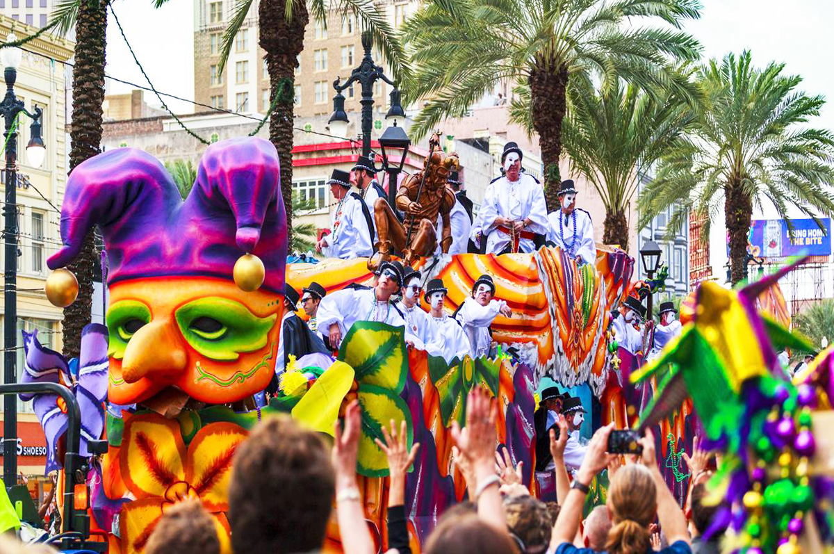 festivals in the USA mardi gras
