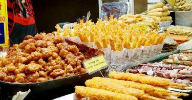 street foods in Korea