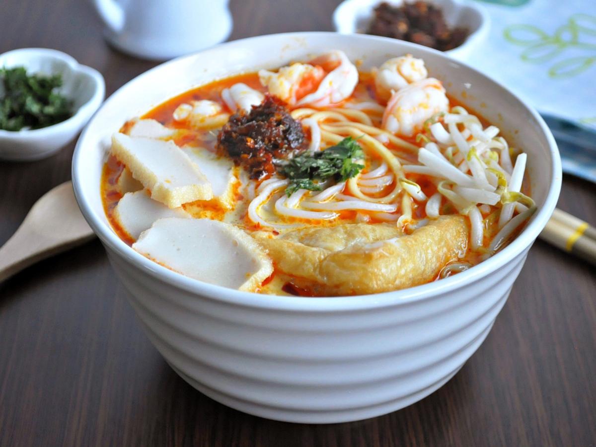 foods in Malaysia laksa
